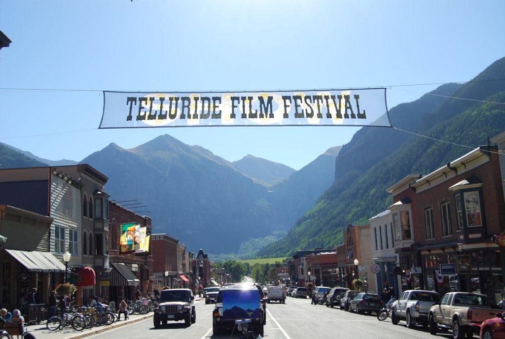 Telluride Film Fest main street view