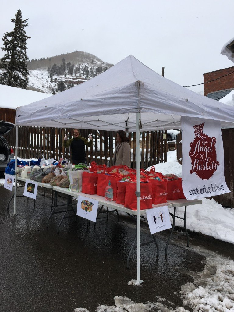 Telluride Angel Baskets food bank