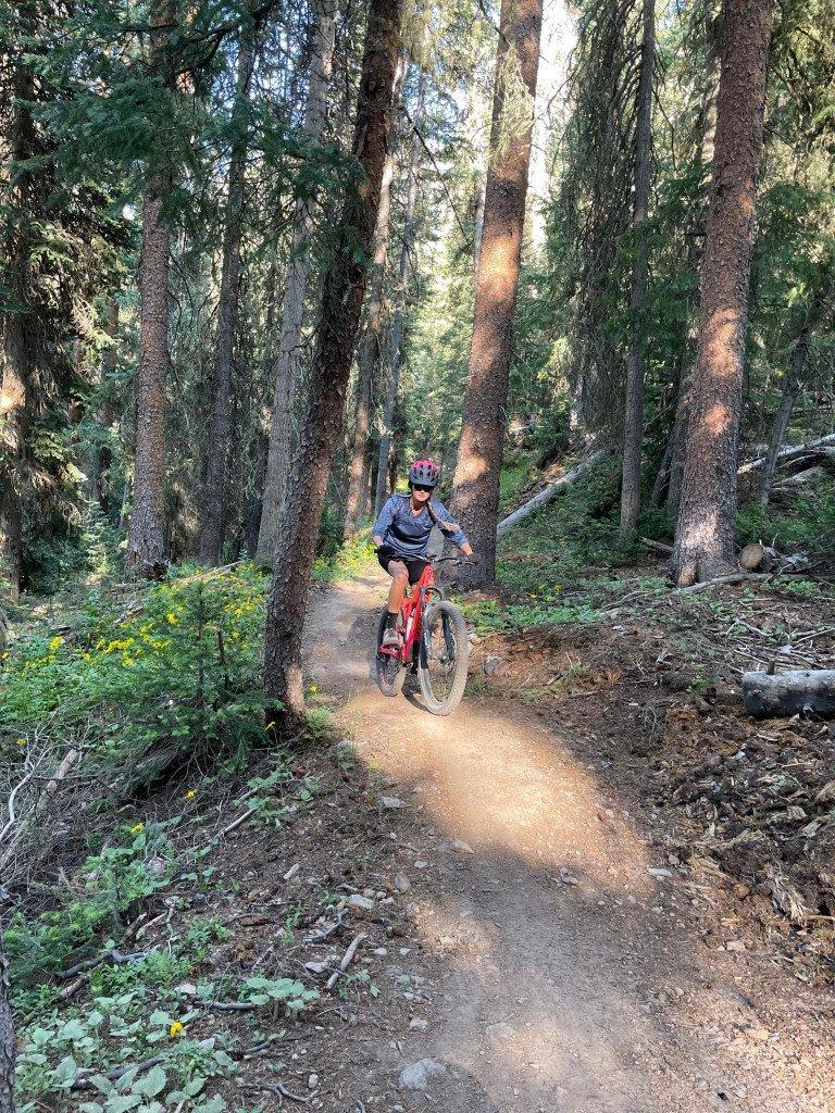 mountain biking Telluride
